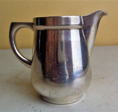 Vintage WMF CROMARGAN Germany Electroplate Mid Century Small Creamer 0.10L