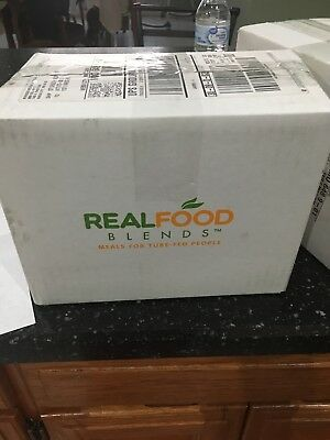 1 Box Real Food Blends! 12 Pouches with several different flavors!