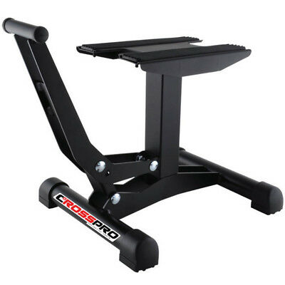 CrossPro NEW Mx Xtreme Textured Black Motocross Dirt Bike Motorcycle Lift Stand