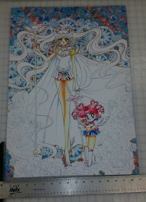 Sailor Moon Poster Sailor Cosmos & Sailor Chibi Chibi 17x24 premium heavyweight