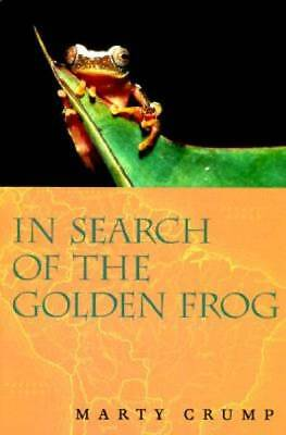 In Search of the Golden Frog by Crump, Marty