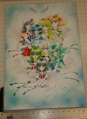 Sailor Moon Inners & outers Manga Art Poster 16.5 x 24 premium heavyweight
