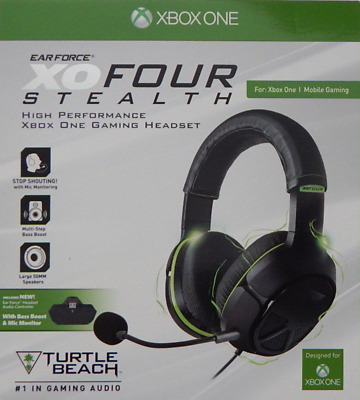 Turtle Beach Ear Force XO Four Stealth Gaming Headset Xbox One