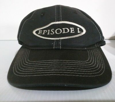 RARE Collectible Episode 1(Star Wars) Strapback Black White Threaded Cap Hat