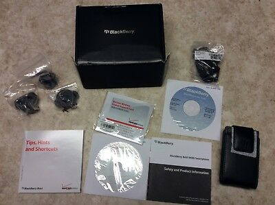Blackberry Bold 9650 Accessories Original box Leather case etc