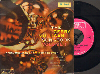 Gerry Mulligan Songbook-Ep-45-Ps- Z.sims-Al Cohn- Konitz- World Pacific-Germany