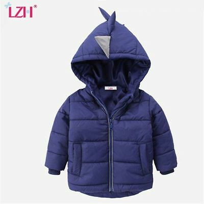 Kids Warm Hooded Outerwear Clothings Baby Boys Autumn Winter Girls Coats Jackets