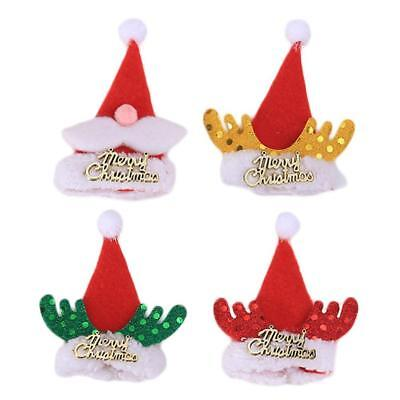 5Pcs/set Cute Funny Christmas Wine Bottle Clothing Champagne Cover Topper Bag