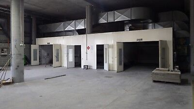 Spray Booths X 2 And Mixing Room Heated   Seetal