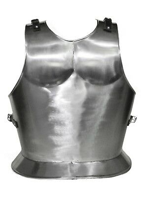 Antique Hand Made Medieval ARMOR Plain BREASTPLATE Iron Roman Breastplate Larp