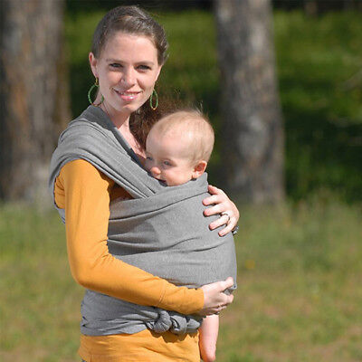Adjustable Ergonomic Baby Sling Stretchy Wrap Carrier Breastfeeding Pouch