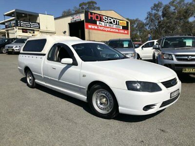 2008 Ford Falcon BF Mk II XLS White Automatic 4sp A Utility