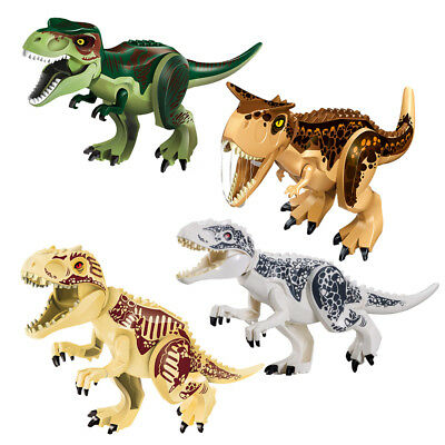 4Pcs Dinosaur Large Rubber Play Figures  Stuffed Action Figure For Kids