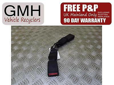 Vauxhall Zafira Left Passenger NS Rear Middle Row Seat Belt Stalk/Buckle 99-05©