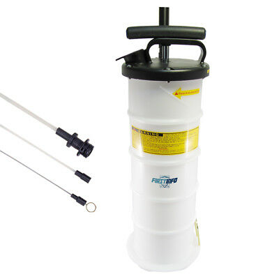 FIRSTINFO 6.5L Manual Operation Oil or Fluid Extractor Bleeder-US