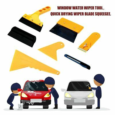 7PCS Squeegee Car Window Tinting Auto Film Install Wrapping Applicator Tools USA