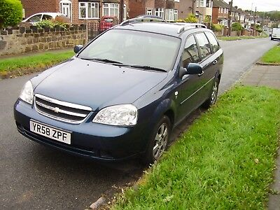 CHEVROLET LACETTI ESTATE 1.8 AUTO short MOT 7th oct. Used daily Spares or repair