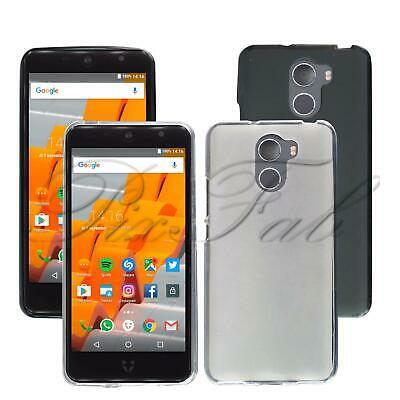 For Wileyfox Swift 2X New Genuine Black TPU Gel Silicone Rubber Phone Case Cover