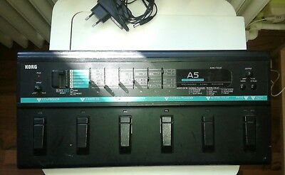KORG bass multi-effects pedal A5 B