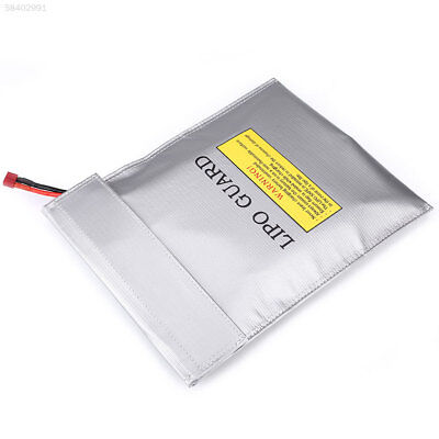 458E LiPo Battery Fireproof Explosion-Proof Safety Bags Double Sided Sack 23x30C