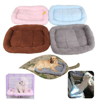 Pet Dog Cat Bed Cushion Mat Kennel Crate Cozy Soft House Car Pad Pets Products