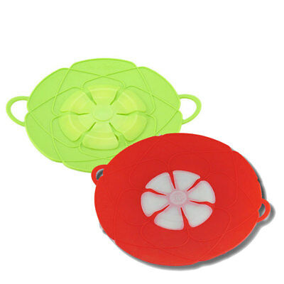 New Flower Bloom Silicone lid Spill Stopper Silicone Lid Cover Cooking Tool