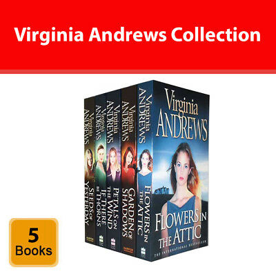 Virginia Andrews Dollanganger Family Collection 5 Books Set Flowers in the Attic