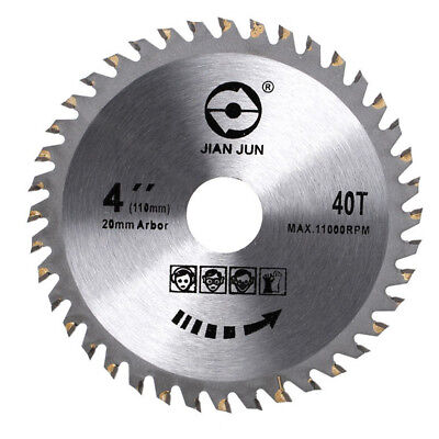 Saw Blade Disc for Angle Grinder TCT Wood Cutting Discs Circular 40 Teeth