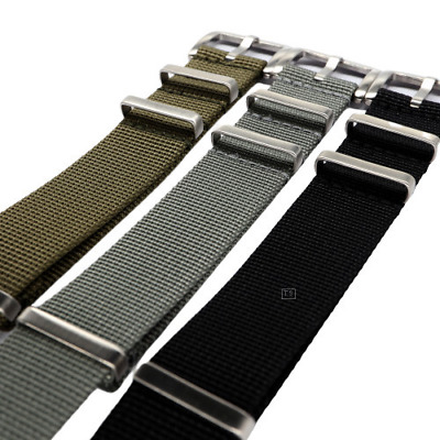 SALE High Density NATO MilSpec Nylon Strap Flat Keeper 1.4mm Thick
