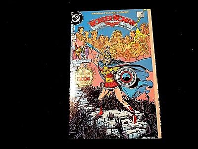 "Wonder Woman #10 - Perez Art!  ""Paradise Lost"" Special Fold-Out Cover!"