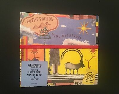 New Paul McCartney Egypt Station CD-Limited Edition Concertina CD