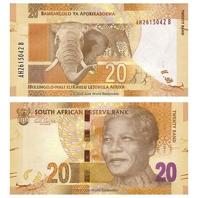 South Africa 20 Rand ND (2012) P-134 Banknotes UNC