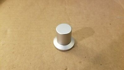 Control knob solid aluminum top hat style 20mm/30mm diameter, height 28mm