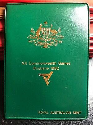 Australian 1982 Mint Set - XII Comm Games Brisbane - 6 coin set in Folder UNC