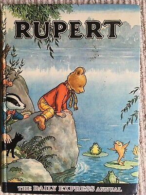 Rupert The Bear Annual 1969 The Daily Express Annual