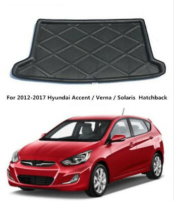 Fit For Hyundai Accent 12-17 Hatch Rear Trunk Cargo Liner Boot Mat Floor Tray