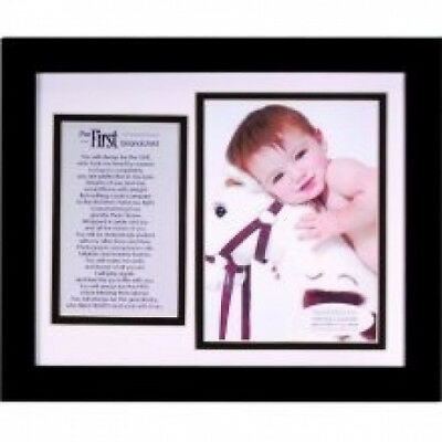 (First Grandchild) - The Grandparent Gift Co. Photo Frame. Shipping Included