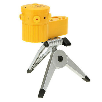 r Rotary Laser Tripod Vertical Horizontal Line Tool with 2 water levels LED R3C5