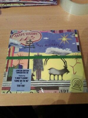 Paul McCartney - Egypt Station CD HMV Exclusive 2 bonus tracks Beatles