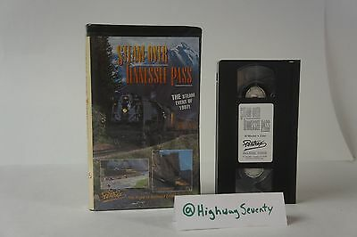 Steam Over Tennesee Pass Pentrex Trains Vhs Movie To Train 1997 Us 844 Pass Rail