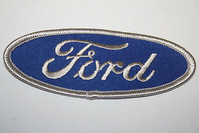 Aufnäher Patch Ford V8 US Car Musclecar Pickup F100 Pony USA Thunderbird Mustang