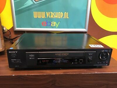 Sony SLV-SX800 VHS Recorder + EP Mode