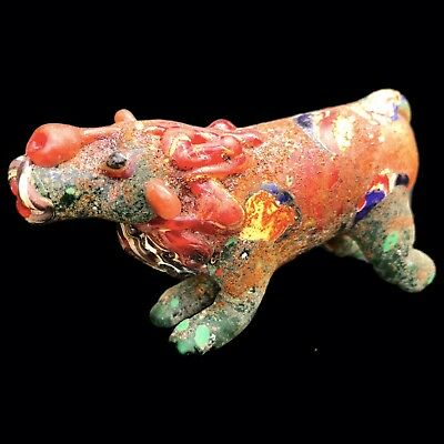 Ultra Rare Phoenician Animal Statuette 300Bc Super Quality (Very Large Size) (1)