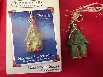"2003 Hallmark Keepsake Ornament ""Nature's Sketchbook"" - **Collector's Series**"