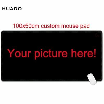 Custom Large mouse pad 1000x500mm speed world map Keyboard Mat Desk Mat for game