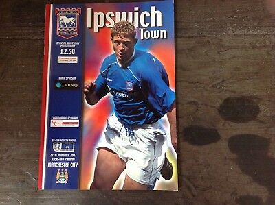 Ipswich Town v Manchester City (27/01/02)
