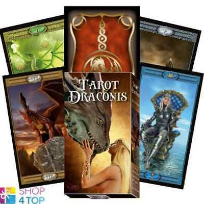 Tarot Draconis Deck Cards Corsi Lo Scarabeo Fortune Telling New