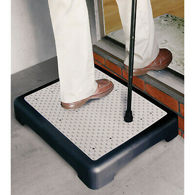 Mobility Riser Half Step for Use Indoor or Outdoor - Slip Resistant