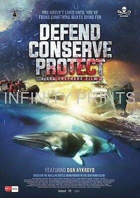 Defend Conserve Protect Movie Film Poster A3 A4