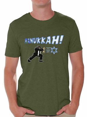 c0e02b7e3 Hannukah Tshirt Ugly Hanukkah T-Shirt for Men Funny Jewish Holiday Gifts  for Him